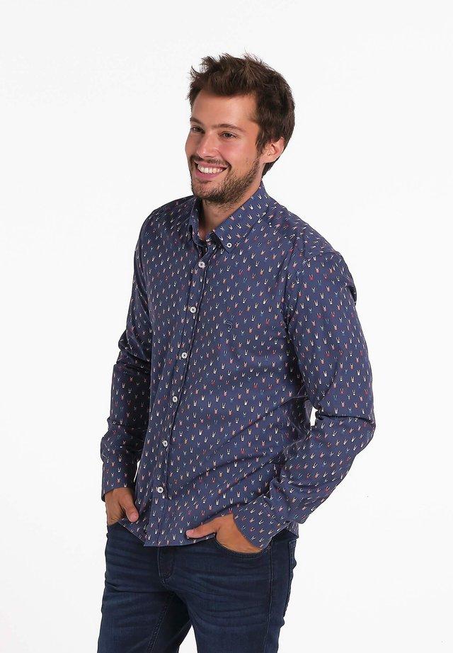 Overhemd - blauw