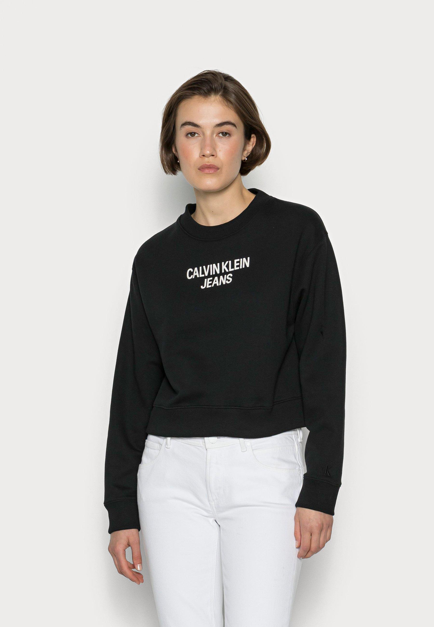 Damen EASY INSTITUTIONAL CREWNECK - Sweatshirt