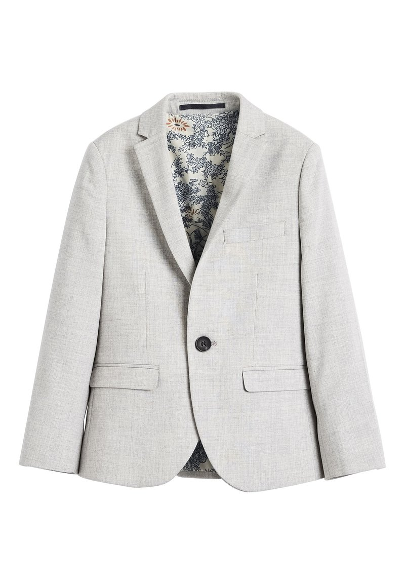 Next - NAVY SKINNY FIT SUIT JACKET (12MTHS-16YRS) - blazer - grey