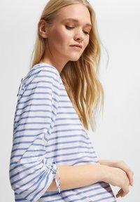 comma casual identity - Blouse - powder blue woven stripes - 4