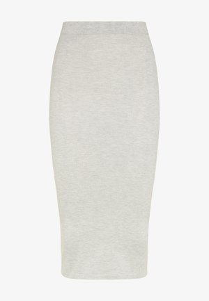Pencil skirt - grau melange