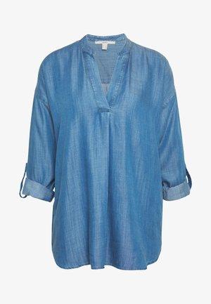 BLOUSE - Blouse - blue light wash