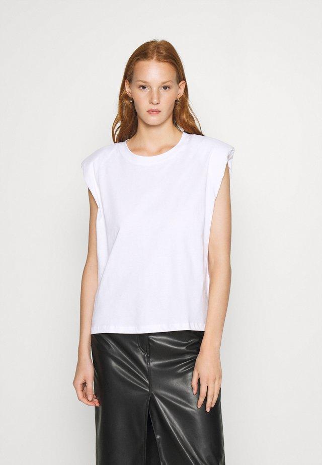MONTERIO - T-shirt basique - white