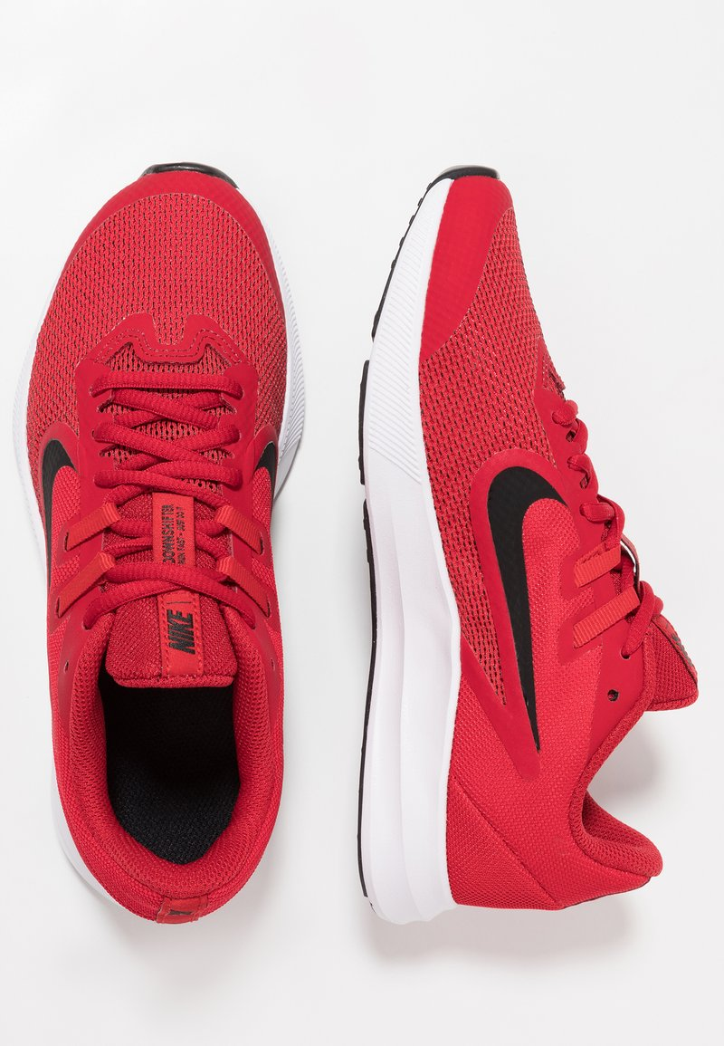 Nike Performance - DOWNSHIFTER 9 - Neutral running shoes - gym red/black/university red/white