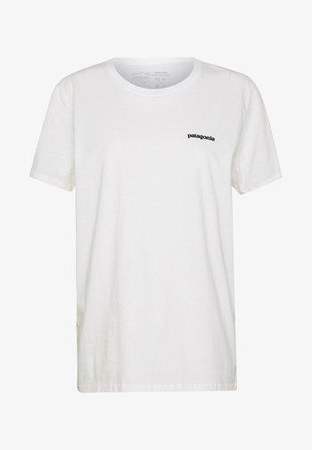 LOGO CREW - T-shirts med print - white