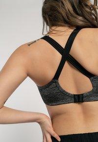 DORINA - Sports bra - grey melange - 7