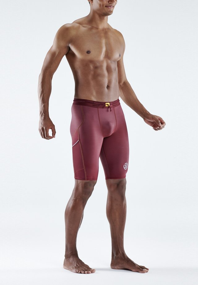 Leggings - burgundy