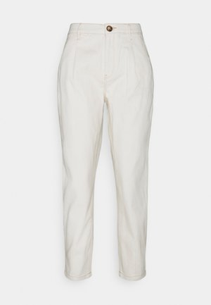WEB PINZAS CRUDO - Trousers - beige/camel