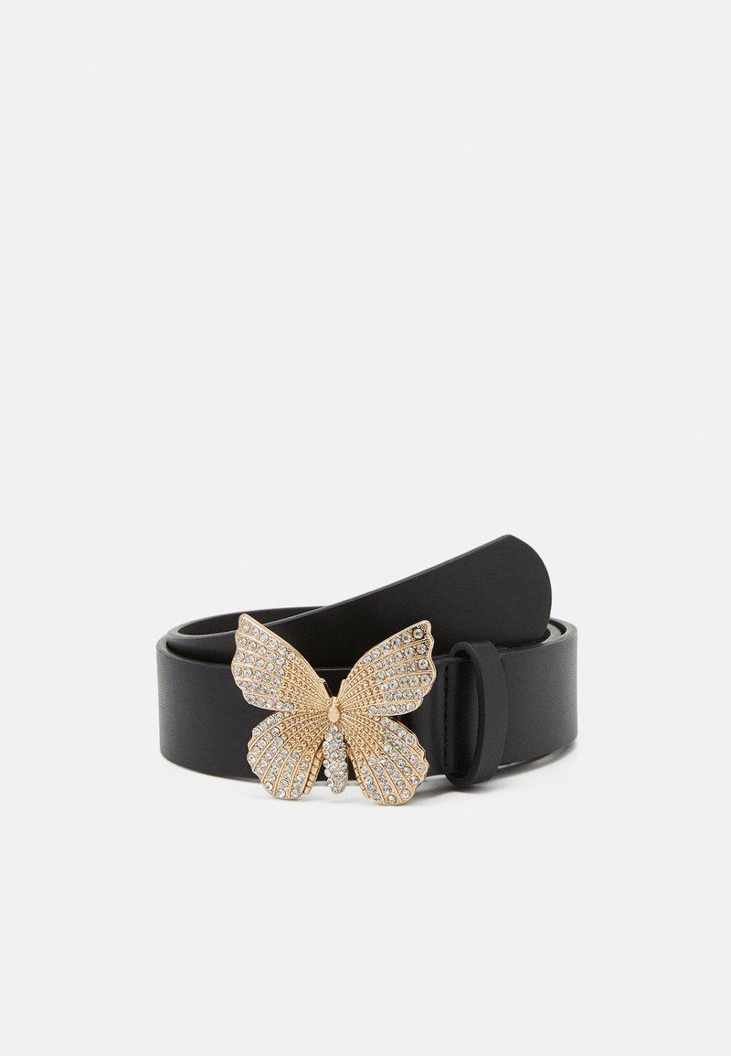 Pieces - PCFLY WAIST BELT - Waist belt - black/gold-coloured