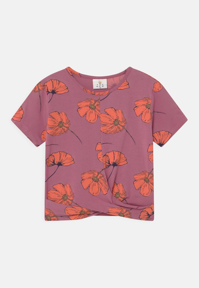 TRACY  - Print T-shirt - heather rose