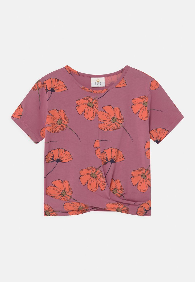 The New - TRACY  - Print T-shirt - heather rose