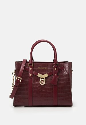SATCHEL - Handbag - dark berry