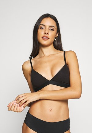 MALIKA PADDED BRA - Trekants-bh'er - black dark