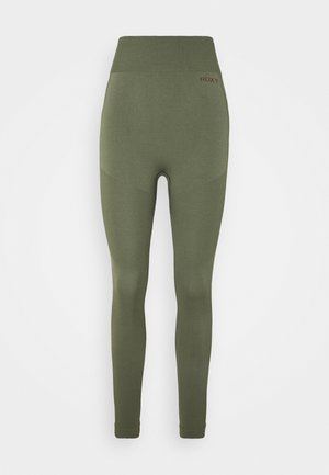 PROUD OF BEING PANTS - Base layer - deep lichen green