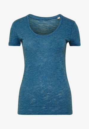 TWISTED DEEP ROUND-NECK - Basic T-shirt - bright indigo