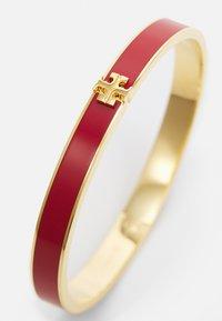 Tory Burch - KIRA ENAMEL BRACELET - Bracelet - tory gold-coloured /brilliant red - 3