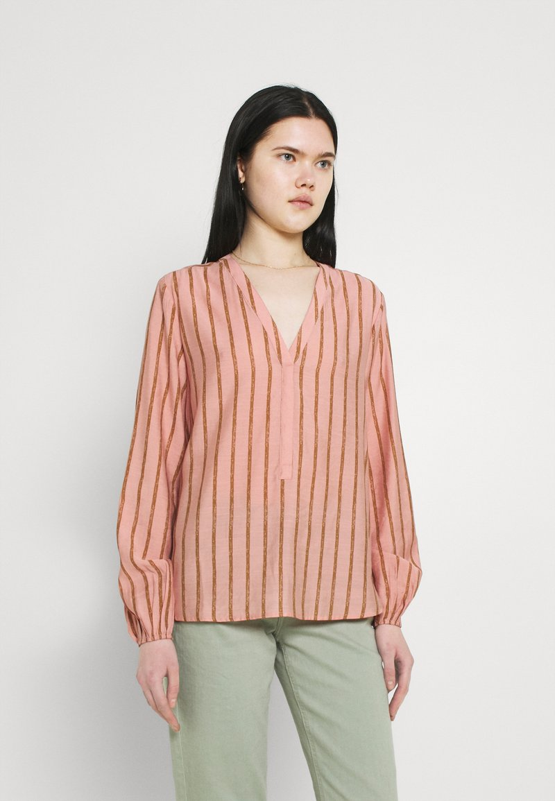 b.young - BXHAVI BLOUSE  - Long sleeved top - old rose mix