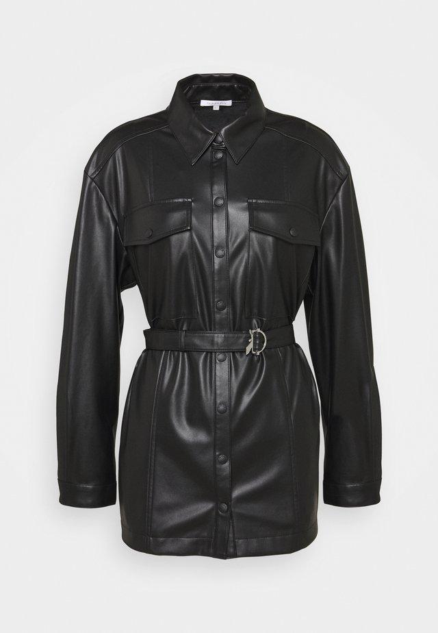 CAMICIA - Short coat - nero