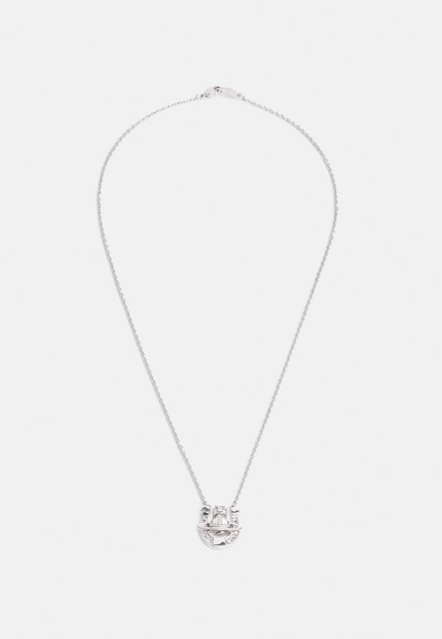 GONZALO PENDANT UNISEX - Necklace - silver-coloured