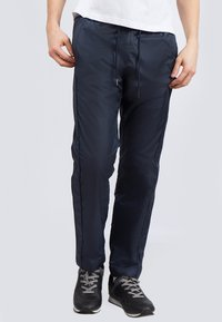 Finn Flare - Tracksuit bottoms - dark blue - 0