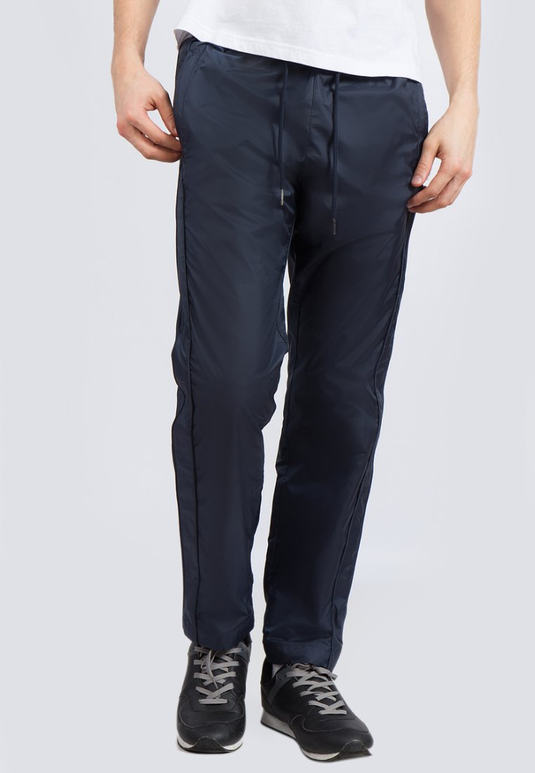Finn Flare - Tracksuit bottoms - dark blue