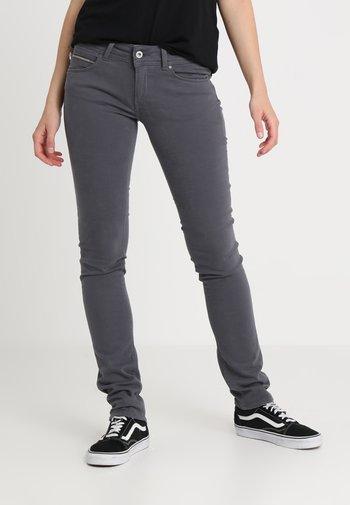 KATHA MID SLIM - Trousers - deep grey