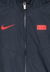 Nike Performance - FRANKREICH - Treningsjakke - dark obsidian/university red - 4