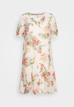 PCMYSTICA LINING DRESS - Sukienka letnia - whitecap gray