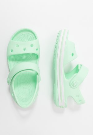 CROCBAND KIDS - Pool slides - neo mint