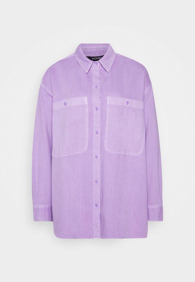 ALLISON - Button-down blouse - lilac
