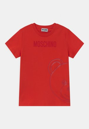UNISEX - T-shirt z nadrukiem - poppy red