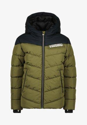 TAROS - Winter jacket - ultra army