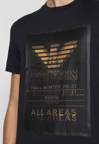 Emporio Armani - T-Shirt print - dark blue - 7