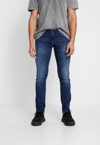 Tommy Jeans - SCANTON SLIM - Jeans slim fit - nassau dark - 0
