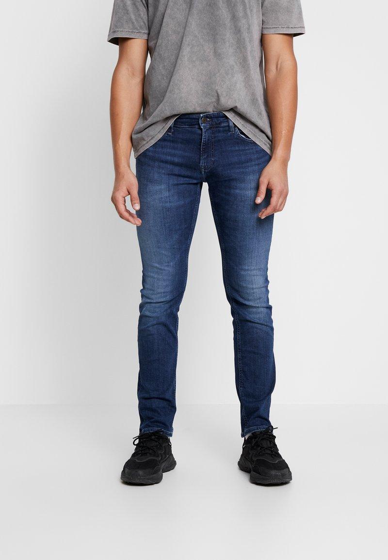 Tommy Jeans - SCANTON SLIM - Jeans slim fit - nassau dark