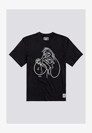 Timber! The Remains Love & Death - Print T-shirt - flint black