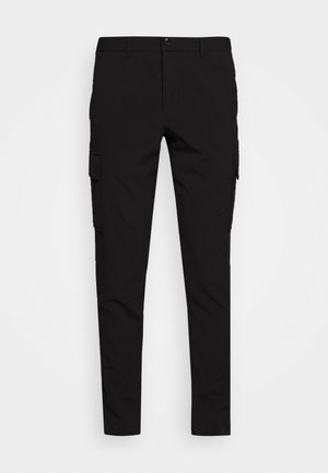 CLUB PANTS - Cargo trousers - black
