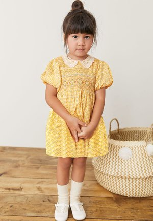 Day dress - ochre