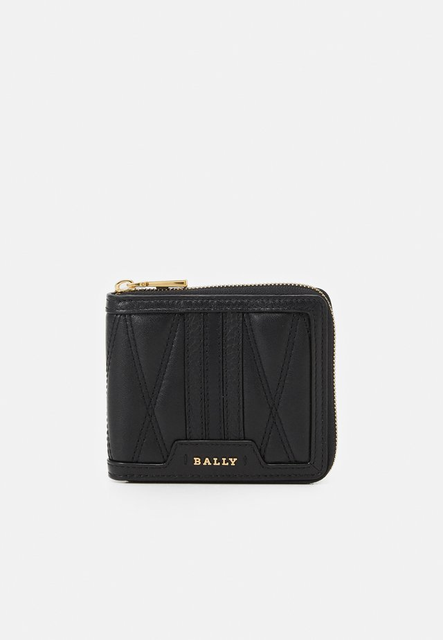 AROUND WALLET - Portemonnee - black