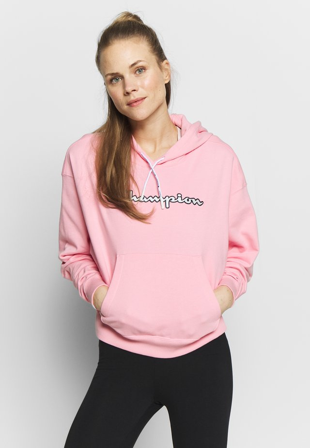 HOODED - Bluza z kapturem - light pink