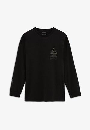 MN 66 SUPPLY LS - T-shirt con stampa - black
