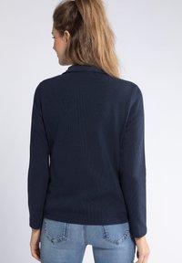 GINA LAURA - Zip-up hoodie - dunkel marine - 1