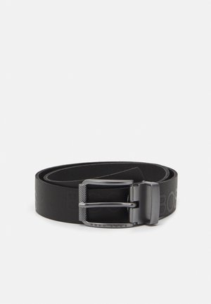 BELT UNISEX - Cinturón - black