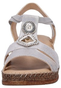 Jenny - Wedge sandals - gray - 5