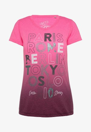 ARTWORK - Print T-shirt - paradise pink