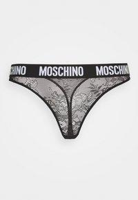 Moschino Underwear - THONG - Thong - black - 0