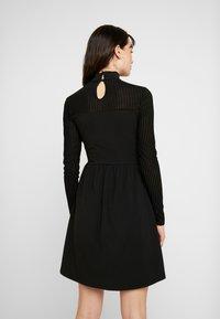 ONLY - ONLNIELLA DRESS - Jersey dress - black - 3