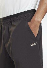 Reebok - LES MILLS ATHLETE - Pantalón corto de deporte - black - 3