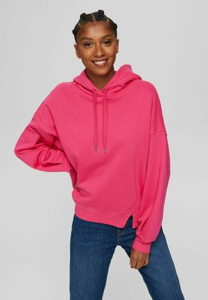 Hoodie - pink fuchsia