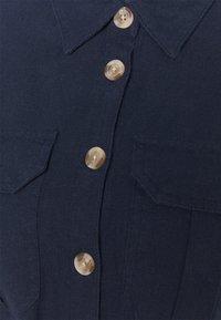 Marks & Spencer London - MIDI SHIRT DRESS - Skjortekjole - dark blue - 2